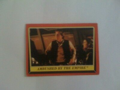1983 VINTAGE SCANLENS - Star Wars Return Of The Jedi Trading Card Number 101