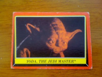 1983 VINTAGE SCANLENS - Star Wars Return Of The Jedi Trading Card Number 58