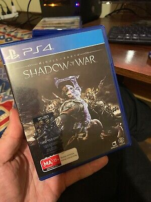 Middle Earth Shadow of War - PS4 - Playstation 4