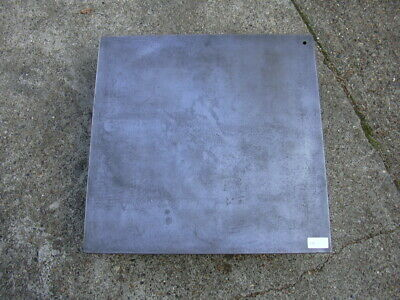 "Crown Windley Surface plate 24"" x 24"" x 5 1/4"" cast iron / tapped hole in corner"