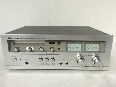 Vintage Command TC-100 Stereo Cassette Deck - Tape Player - High Quality Japan