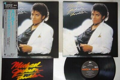 MICHAEL JACKSON THRILLER EPIC 30 3P-431 Japan OBI MASTERSOUND VINYL LP