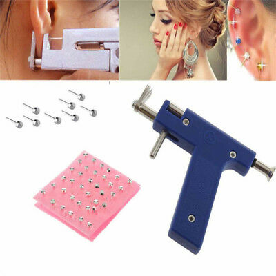 Professional Piercing Gun Steel Ear Nose Navel Body Piercing Body Jewelry~GN