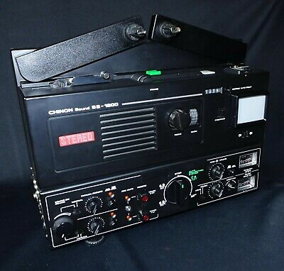 *** Projecteur Super 8Mm - Chinon Sound Ss-1200 Stereo  - 360 Metres ***