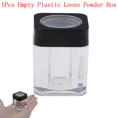 10G Empty Plastic Jar Pot Loose Face Sifter Portable'Case Box Cosmetic Contai~GN
