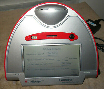 Invitrogen Countess Automated Cell Counter C10281 12V  W/ Power Cord