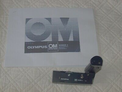 Olympus Winder 2 for Olympus OM series cameras, with instruction leaflet