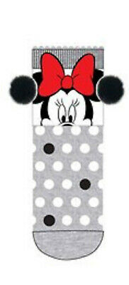Calcetines Antideslizantes Gris Minnie Mouse (22474)