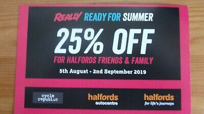 halfords carrera boardman voodoo voucher