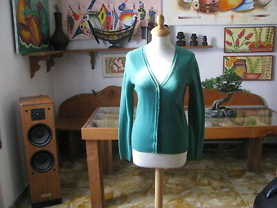 Women's Sweater United Colour of Benetton, Green, SIZE S - Made in Italy