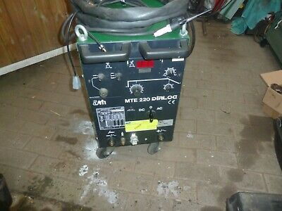 Welder Ac Dc With Torch Earth Clamp 3Phase &240V Migatronic Do Arc Welding