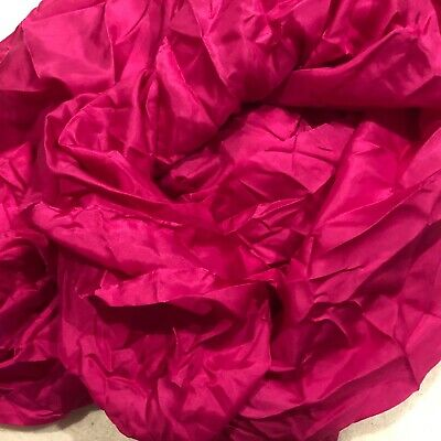 silk Fabric- commercially dyed - habotai  25 x 44 inches