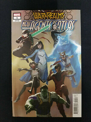 Marvel War of The Realms New Agents of Atlas #1 1:25 Pyeong Park Variant 2019