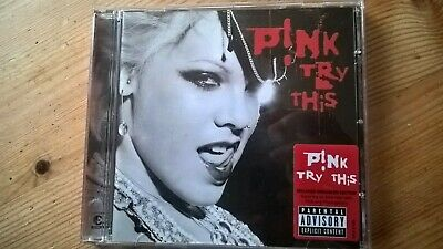 Pink Try This CD 2003 Trouble Last To Know