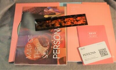 BTS Map Of The Soul Persona Album V 02 With   Poster and Negative Strip , Card