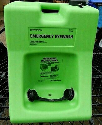 Eye Wash Station. Portable, 10 gallon, Complete, Clean & Excellent Conditon.