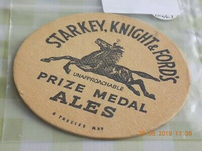 1956 Beermat Starkey Knight and Ford Cat 003 (1908P55)