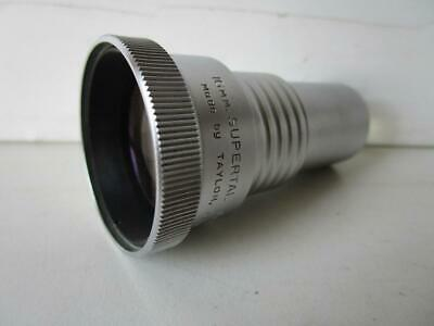 Vintage Taylor Hobson Supertal 16mm Projection Lens 2 inch f 1.6