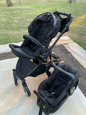 3 In 1  Steelcraft Strider Compact Stroller Pram. Transferable Baby Car Capsule