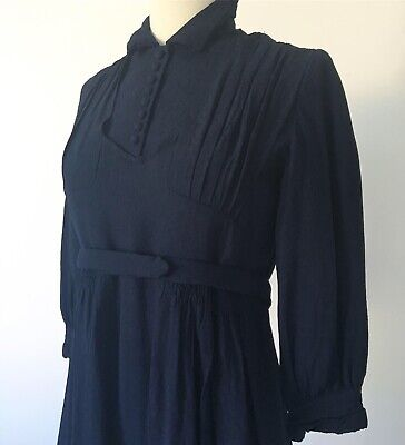 Robe vintage 1940 ancienne ww2 dress 1940s années 40 pin-up