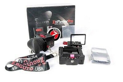 """Zacuto Z-Finder EVF Pro 3.2"""" High Resolution Monitor with extras"""