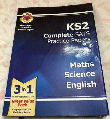 KS2 Complete SATS Practice Papers Pack: Science, Math... by CGP Books Make O