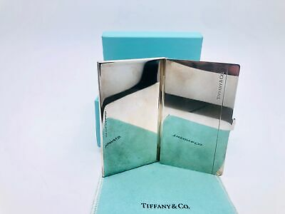Tiffany & Co. Sterling Silver Business Card Holder Case 61.80 Grams