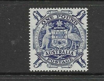"1948 Arms £1 Blue ""Mint Unhinged"" Superb And Fresh Pre Decimal Australian Stamp"