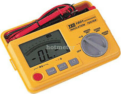 H● TES-1601 Auto Ranging Insulation Tester new.
