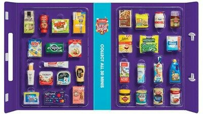 Coles Mini Collectables Little Shop 2 + 1 items,Free Shipping, Same Day Handling