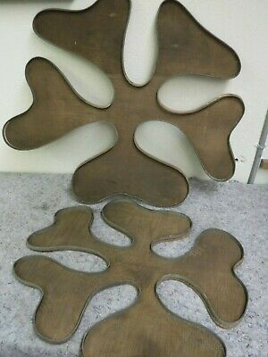 Unusual Handmade Brass & Copper Free Form Sculptures-Unsigned