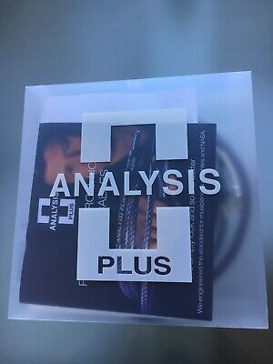 Analysis Plus Chocolate Theater 4 Bi Wired Speaker Cable 4x16AWG 10ft Pair
