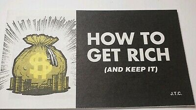 VINTAGE NOS CHICK TRACT How To Get Rich Jack Chick Publications 1978