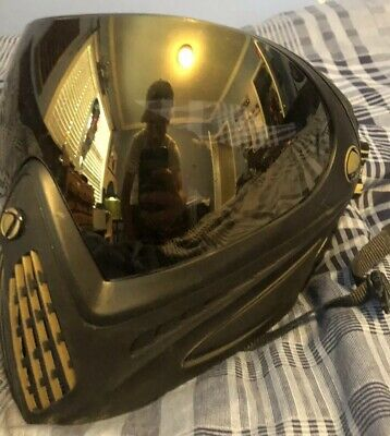 Dye Invision Thermal Goggle i4 Pro Mask Collector's Ed. - Black/Gold Used Twice