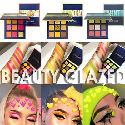 9 Colors Eyeshadow Palette Matte Mineral  Neon Eyeshadow Shimmer Shining