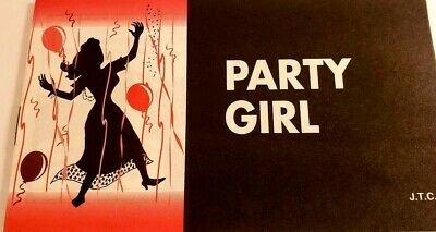 VINTAGE NOS CHICK TRACT Party Girl Jack Chick Publications 1998