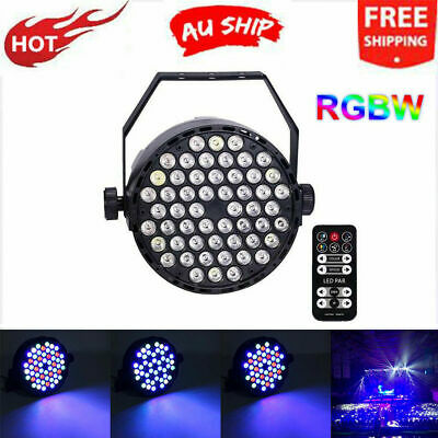 54 LED Lights RGB Lamp Club DJ Party Stage Dmx512 KTV Party With RC