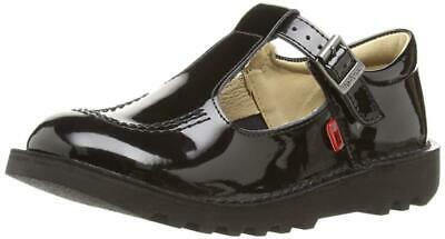 Kickers Kick T Patent Infant, Youth, Junior Girls' Mary Jane Flats