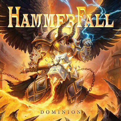 HammerFall ‎– Dominion 2019 COLLECTOR'S SEALED DIGIPACK CD! FREE SHIPPING!