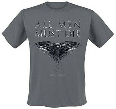 Game Of Thrones All Men Must Die Mens T Shirt Medium New Official