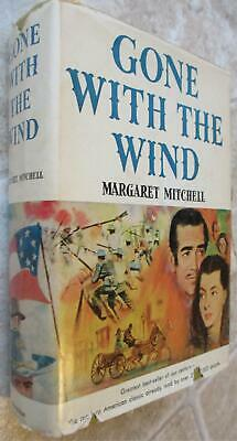 GONE WITH THE WIND 1964 Book Club Edition by Margaret Mitchell HC Dustjacket