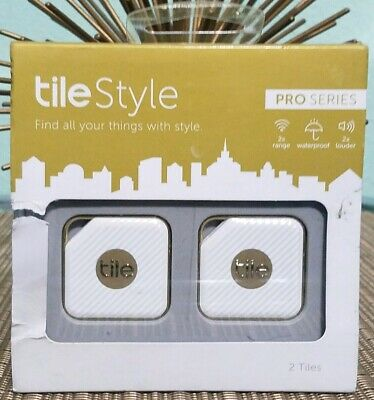 Tile Style Pro Series White Set of 2 New in Package CHEAP MUST SEE