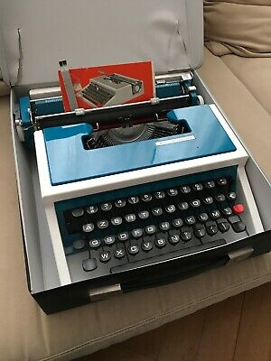 1974 Olivetti Underwood 315 Typewriter Schreibmaschine Top-Zustand very good