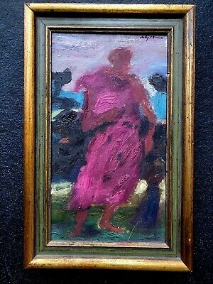 """*FINE* Original Oil Painting. """"The PROPHET"""" 1942. Rowley Gallery Framed."""