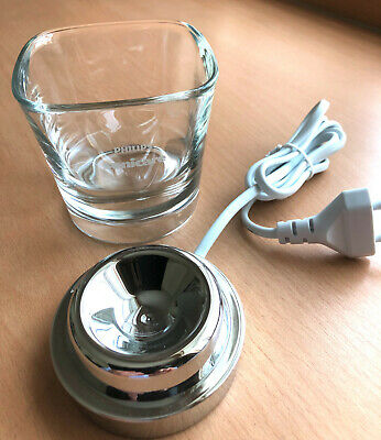 Philips Sonicare Diamond Clean Toothbrush Glass and Charger Cup (unused)