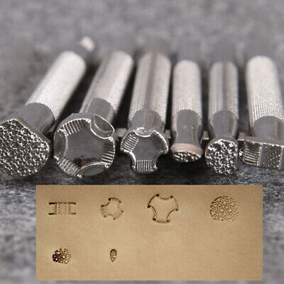 1pcs Leather Printing Tool Alloy Carving Punch Stamps Craft ~GN