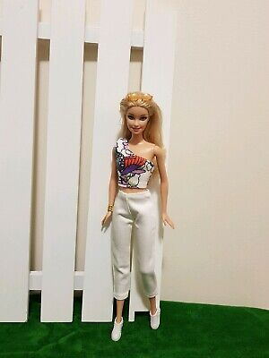 New sleeveless top and pants daily fashion clothes for your Barbie Au seller