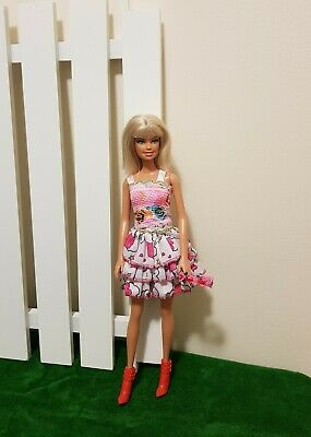 New blouse and skirt daily fashion clothes for your Barbie Au seller