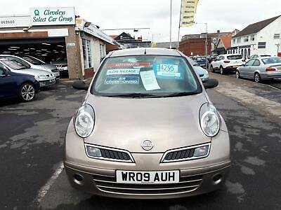 2009 Nissan Micra 1.2 Visia + Automatic 5 Door From £3,495 + Retail Package