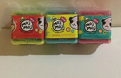 Lot Of 3 The Original Moj Moj Crunch Blind Boxes  New In Package ~ Free Shipping